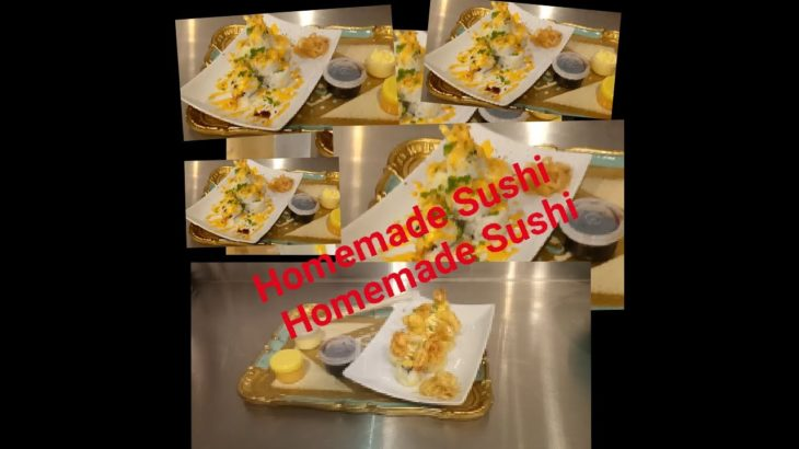 #Sushi#Japanesefood#yum#food# How to make Sushi Homemade chef Jeslain/Mamita's Channel