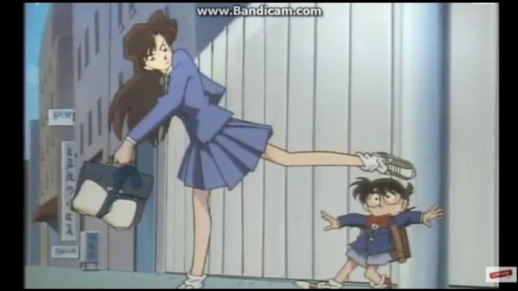 Trích những đoạn kanate của Ran vào mặt Conan(Shinichi)-Anime Japan