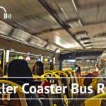 [4K/Binaural Audio] Tokyo Sightseeing Roller Coaster Bus Ride  – Tokyo Japan