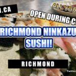 ALL YOU CAN EAT SUSHI! RICHMOND NINKAZU JAPANESE RESTAURANT RICHMOND SUSHI REOPENED #AYCE  
