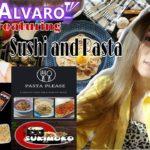 ITALIAN and JAPANESE CUISINE Feat. DJ ALVARO| #Sushi #Maki #Pasta #SupportLocal #AngTipoKongLalake
