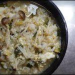 【アレンジ料理】雑炊アレンジ!入れ過ぎキノコのきのこ雑炊 Japanese food Japanese cooking Japanese porridge Mushroom porridge 4K