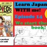Read with me One Piece Learn japanese together – Episode 14