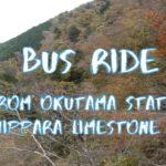 [Vlog] Bus Ride from Okutama Station to Nippara Limestone Caves | Tokyo Sightseeing, Japan