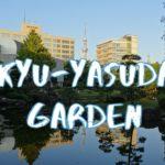 [Vlog] Kyu-Yasuda Garden | Tokyo Sightseeing, Japan