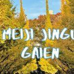 [Vlog] Meiji Jingu Gaien with Autumn Leaves | Tokyo Sightseeing, Japan