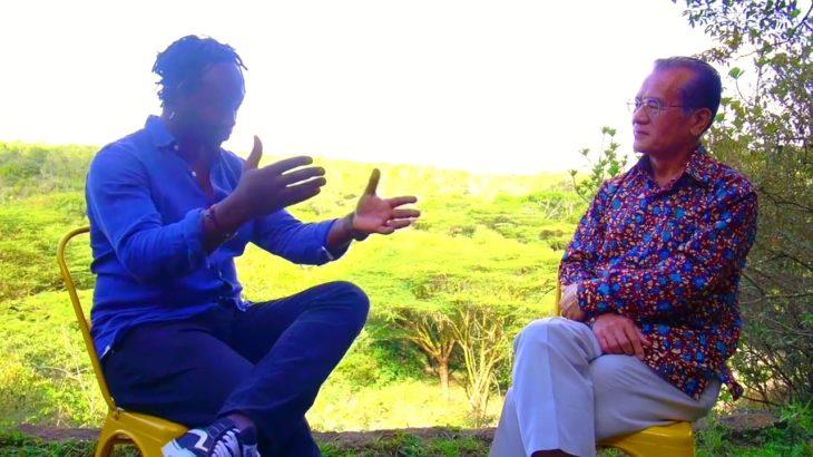 An Interview with Eric Wainaina & The Japanese Ambassador to Kenya, Ambassador Ryoichi Horie