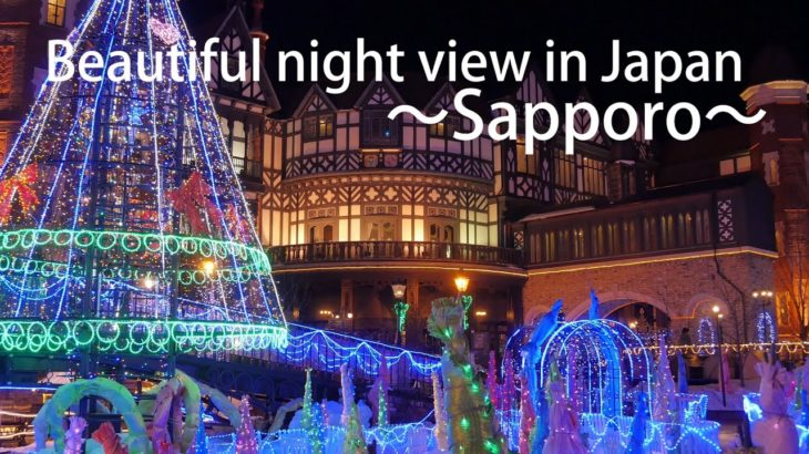 Beautiful night view in Japan ~Sapporo~