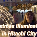 Christmas illuminations in Hitachi City December 2020 Japan