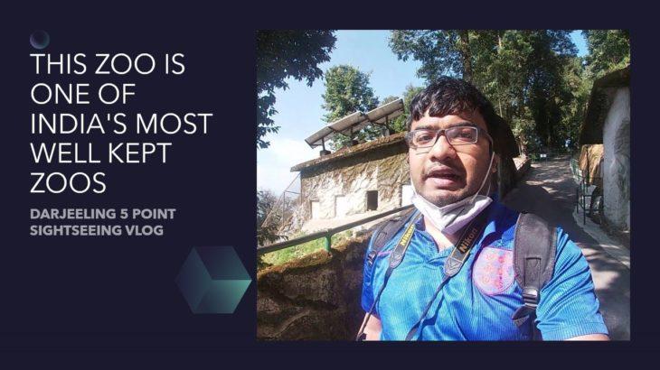 Darjeeling vlog 5: 5 Point sightseeing | Darjeeling Zoo| Japanese Peace Pagoda| Rock Garden| HMI