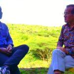 Eric Wainaina with The Japanese Ambassador to Kenya, Ambassador Ryoichi Horie