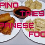 FILIPINO TRIES JAPANESE FOOD