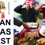 JAPANESE STYLE CHRISTMAS FEAST – Eric Meal Time #518