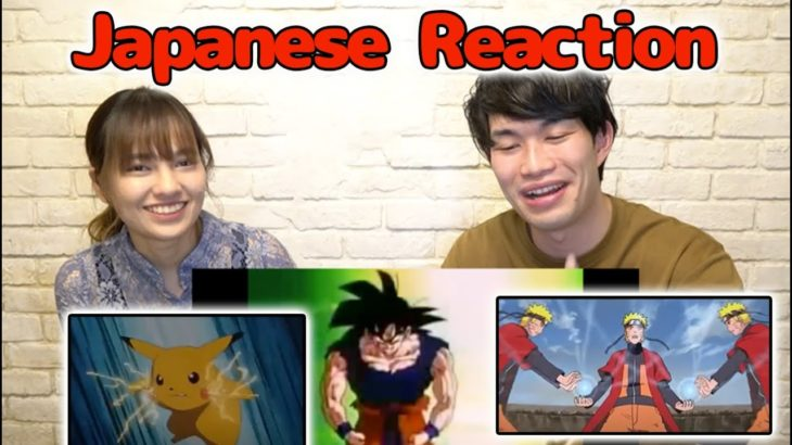 Japanese Reacts to Most Popular Japanese Anime Aired in the Philippines with a Thai