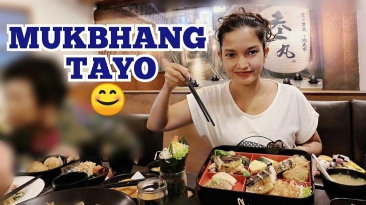 MUKBHANG ng JAPANESE FOOD | OFW TAIWAN