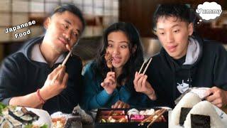 Trying Japanese food||Ft.@Power Rangers  ||NEW MERCH ALERT🚨||MUKBANG+REVIEW