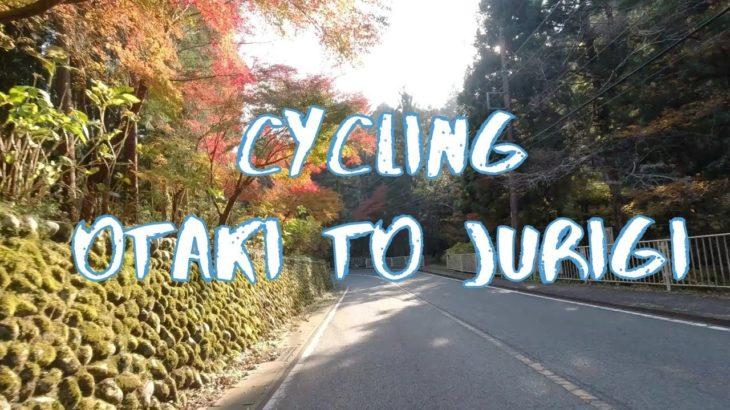 [Vlog] Cycling from Otaki to Jurigi in Akigawa Keikoku Valley | Tokyo Sightseeing, Japan