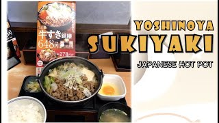 YOSHINOYA JAPAN | SUKIYAKI | JAPANESE FOOD | Christine Sy Channel