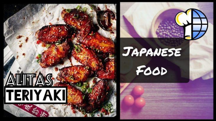🇯🇵🍴Alitas Teriyaki / Teriyaki Chicken Wings / Teriyaki Debasaki / 🌐 Japanese Food / 📲 Video-Receta