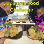 Japanese Food Challenge #4 天ぷら(Tenpura)
