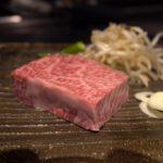 """Japanese Food WAGYU steak """"TEPPANYAKI"""""""