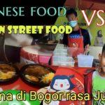 Japanese food vs Korean street food kaki lima bogor, rasa nya JUARA !!!