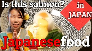 【Japanese food】What are your impressions of college students eating high-class Japanese food?