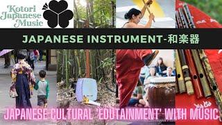 Kotori Kids: Japanese Cultural Edutainment with music