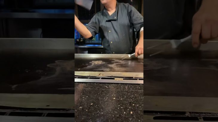 The Guy who is making my Japanese food