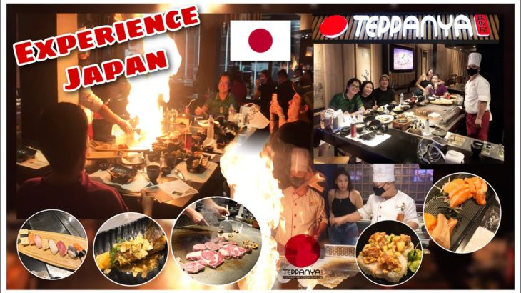 VLOG#9 – TEPPANYA – AUTHENTIC JAPANESE CUISINE – DINNER WITH THE ARRIBAS | I AM NEL CABRERA