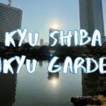 [Vlog] Kyu Shiba Rikyu Garden with Autumn Leaves | Tokyo Sightseeing, Japan