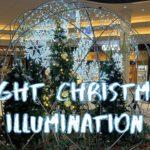 [Vlog] Night Christmas Illumination in Ochanomizu Sola City   Tokyo Sightseeing, Japan