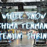[Vlog] White Snow in Yushima Tenmangu (Tenjin) Shrine | Tokyo Sightseeing, Japan