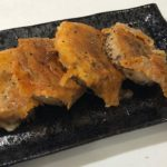 simple  grilled yam with cheese  Japanese-food 山芋のチーズ焼き