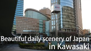 Beautiful daily scenery of Japan in Kawasaki