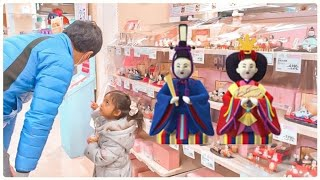 DESTINY GOT HER FIRST HINA DOLLS 🎎 | JAPANESE CULTURE AND TRADITIONS FOR CHILDREN | Vlog400