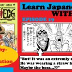 Learn Japanese with me |  Episode 19  | One Piece  | Nami goes to Buggy