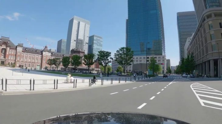 4K Tokyo Sightseeing Drive: CHIYODA Ward, The political center of Japan
