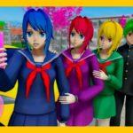 Anime School Girl Japanese School Life Simulation Gameplay #2