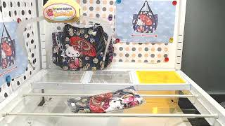 Got [Hello Kitty – Japanese Pattern Big Balloon Tote Bag (Kabuki)]!!