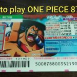How to play ONE PIECE 878 – NEW JAPANESE SCRATCH