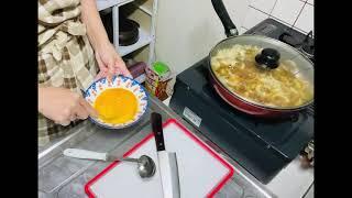I cooked japanese food oyakodon ( 親子丼作ってみました😋♥️