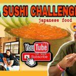 IKURA SUSHI CHALLENGE  (JAPANESE FOOD) Tempura and Somen