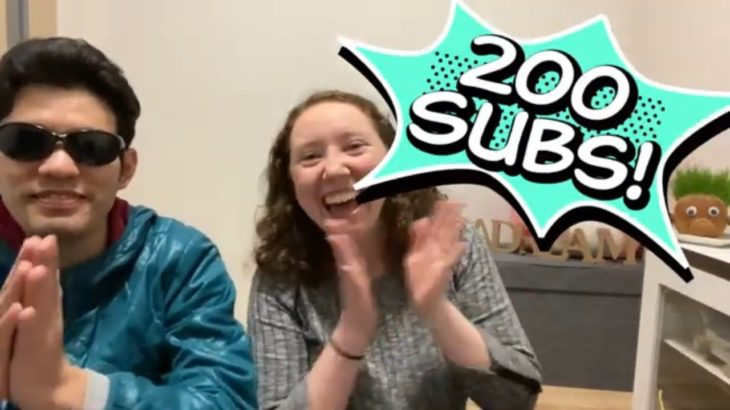 Introducing my Japanese Husband   Youtube Milestone 200 Subscribers! It's ADream come true!