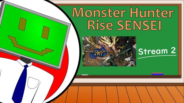 Learning Japanese from – Monster Hunter Rise Sensei: Stream 2
