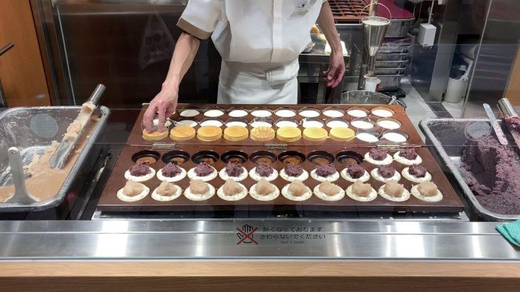 Obamyaki nijyuyaki Japanese street food pancakes  Japanese traditional food