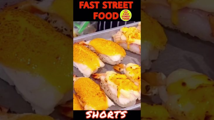 #Shorts |Amazing sushi recipe Japanese food|Bangkok street food|FAST STREET FOOD