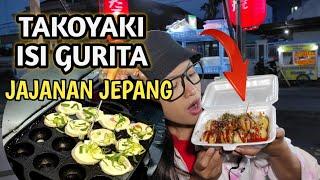 TAKOYAKI ISI GURITA // JAJANAN JEPANG KEKINIAN // HARGA MURAH RASA MEWAH // JAPANESE FOOD