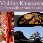 authentic restaurant in Japan /strolling around three shrines near Kanazawa castle and Kenrokuen