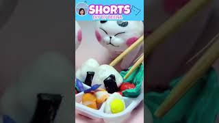 DIY Miniature Food Japanese Food Bento Box|DIY BY BEENA#Shorts